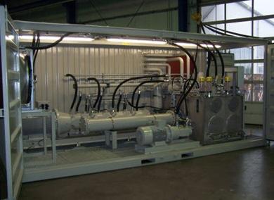 Container làm trạm vận hành thiết bị điện