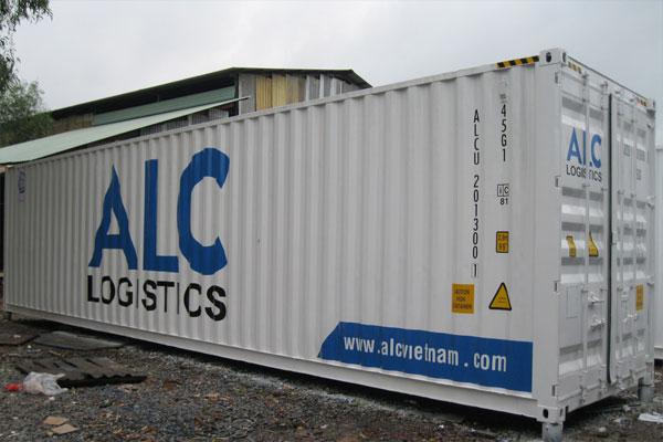 Container vẽ logo theo yêu cầu
