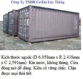 Bán container kho đẹp giá rẻ