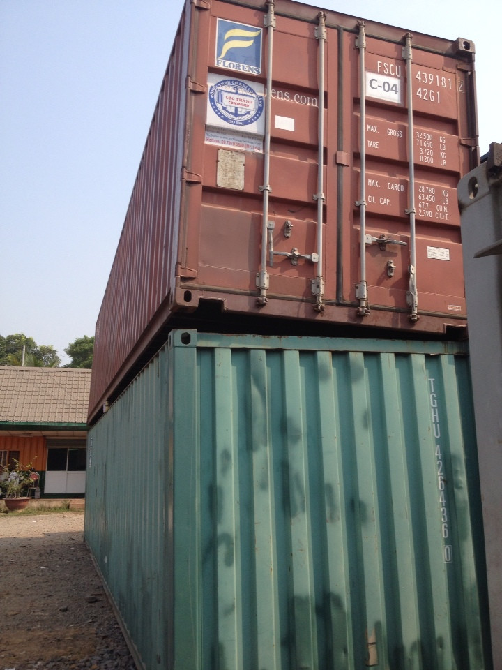 Thanh lý Container kho 40 feet