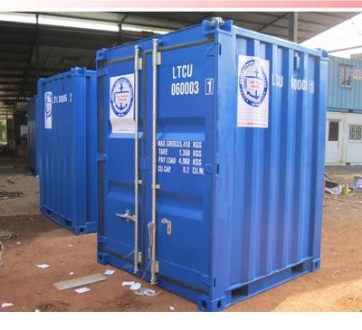 Container Kho 6 feet gu padeye